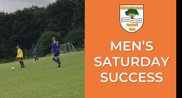 Men's Saturday Success
